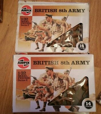 airfix 1 32 british 8th Army 1986 see my other airfix items