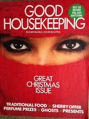 Vintage (December 1978) Good Housekeeping magazine - special Christmas issue