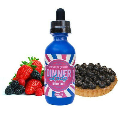 E-Liquid Dinner Lady Berry Tart 50 Ml 00 Mg