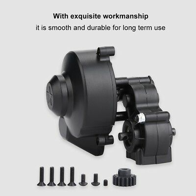 Complete Transmission Gear Box with Gear for 1/10 RC Axial SCX10 SCX10 II 90046