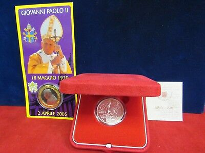 2004 Vatican City 925 Silver Ufn 10 Euro Proof World Peace Day Coin (12747-World