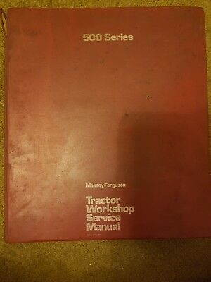 Massey 168 Workshop Manual Reprint 1856000m1 Business, Office & Industrial