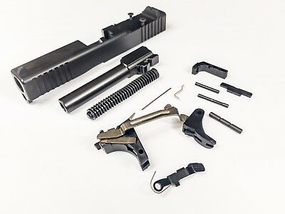 GLOCK 19 GEN 3 9mm Complete Slide Upper, Lower Parts Kit NEW  Fits Poly 80  RDO