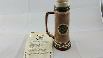 Anheuser Busch 5 year Green Cross Safety Achievement Employee Beer Mug Stein