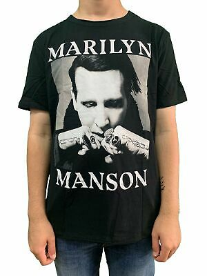 Marilyn Manson Fists Amplified Unisex Official Tee Shirt Brand New Various Sizes