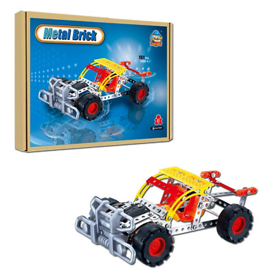 COME2LOOK 151 Piece STEM Toys Kit | Educational Construction Engineering Buildin