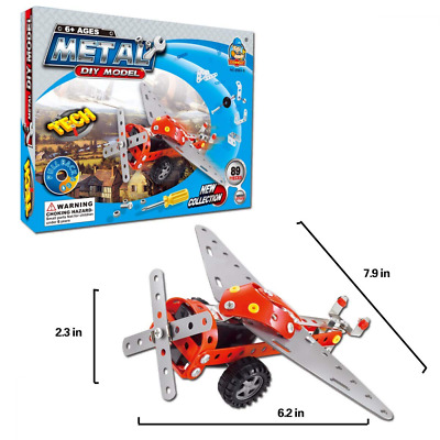 COME2LOOK 89 Piece STEM Toys Kit | Educational Construction Engineering Building