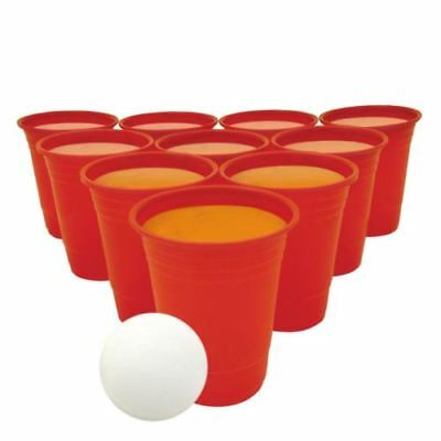 28pc Beer Pong Drinking Game Alcohol American Cup Gift Beerpong Frat Party Ping