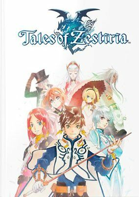 Tales of Zestiria Collectors Edition Strategy Guide Hardcover Official Game Book
