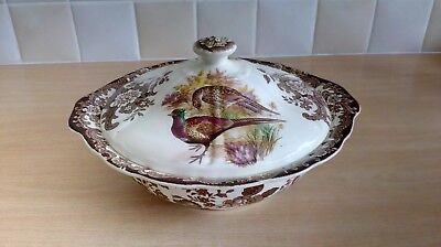 Royal Worcester Palissy Game Series Lidded Tureen