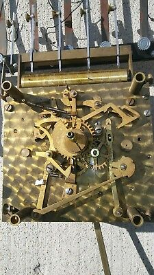 GE Herschede Revere Electric Tubular Bell Chime Grandfather Clock Movement