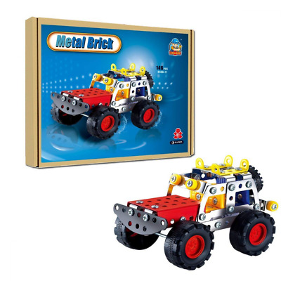 COME2LOOK 146 Piece STEM Toys Kit | Educational Construction Engineering Buildin