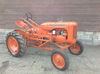 Allis Chalmers B classic vintage tractor