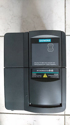 SIEMENS MICROMASTER 440 6SE6440-2UD22-2BA1 E-Stand: A21/2.09