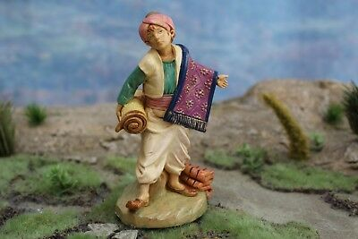 "5"" Fontanini Italian Nativity VILLAGER THOMAS 1998  w/ BOX - VERY NICE!!"