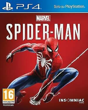 Video Gioco Marvel's Spider-Man Sony Ps4 Playstation 4 Spiderman Pal Italia