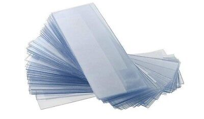 American Scientific Microscope Slides, 100 Blank Plastic Slides for Microscope