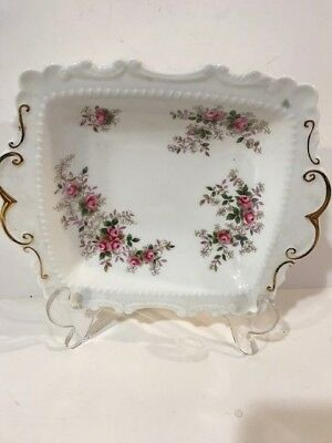 "Royal Albert Bone China ""Lavender Rose"" candy dish"