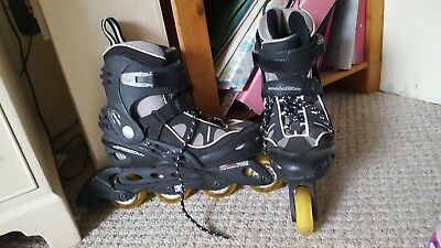Vintage Manhattan 1990's Inline In-line Roller Skates Size 10 Great Condition