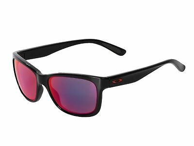 5c5f343f53 NEW Oakley Sunglasses OO9179-27 Forehand Polished Black Frame Red Iridium  Lens