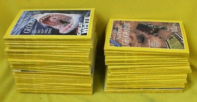 55+ National Geographic Magazine 1997-2002 #REC WH JT