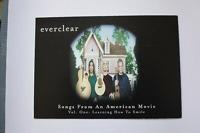 4 Everclear postcards/flyers
