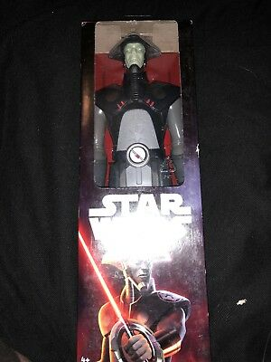 """STAR WARS FIFTH BROTHER INQUISITOR Disney 12"""" ACTION FIGURE HASBRO TOY New"""