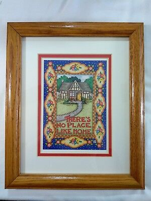 Mary Engelbreit There's No Place Like Home Framed Print Wall Art Hanging