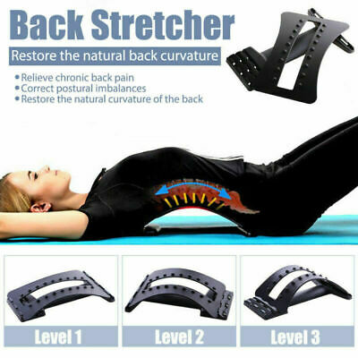 Magic Arch Spine Alignment and Lumbar Support Back Muscle Stretcher Relieve Pain
