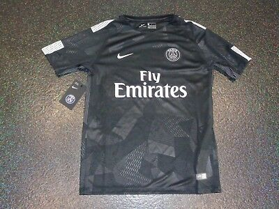 BNWT Boys / Girls PSG Paris Saint Germain Third Football Shirt  Age 13/15  XL