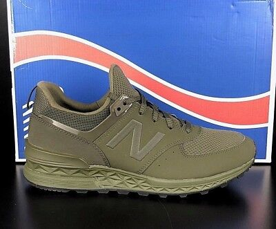 new styles a1df9 a222b NEW BALANCE MS574SCJ Olive 574S Synthetic Mesh