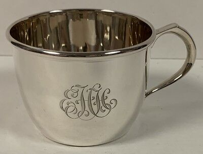 Vintage Cartier Sterling Silver Tea Cup or Baby Cup - Excellent Condition