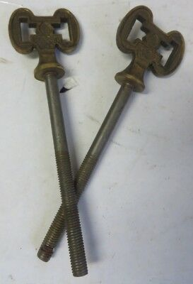 2 Vintage Butternut Screws