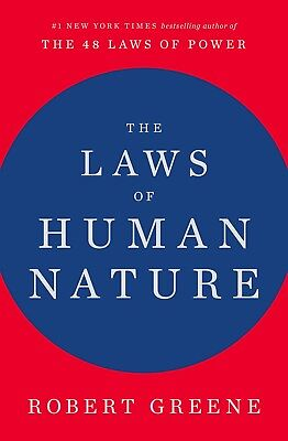 The Laws of Human Nature by Robert Greene Hardcover 0525428143 FREE SHIPPING NEW