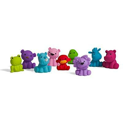 Infantino Tub O' Toys Squeezable animal pals 10 piece teething safe