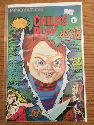 Child's Play #1 Comic Book Chucky Innovation New TV Series Coming