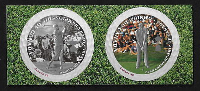Canada Stamps — Paire — 2004, Sport: Open Golf Championship #2051&2052 — MNH