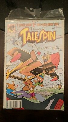 Disney's Tale Spin Comic Issue no. #1 June 1991 nr nm