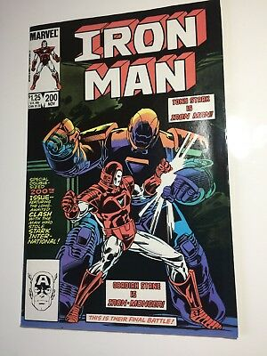 Iron Man (1st Series) # 200  NOV 1985 Iron Monger Comic Book