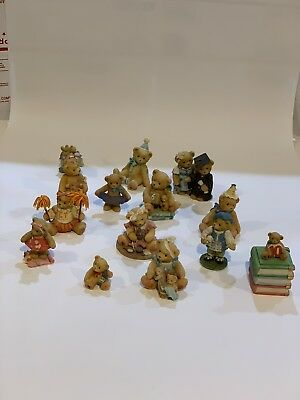 CHERISHED TEDDIES LOT OF 14 from the 90's and a couple from 2000 + Millennium