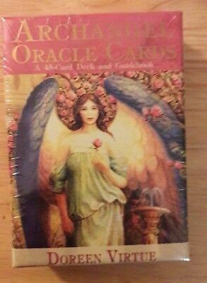 New Archangel Oracle Cards 45 card deck & guidebook by Doreen Virtue PhD