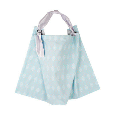 KissKiss HugHug Breastfeeding Reversible Cover - Victorian Blue