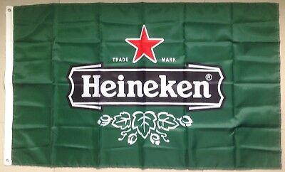 Heineken Beer Banner Flag 3' x 5' Ships From NC