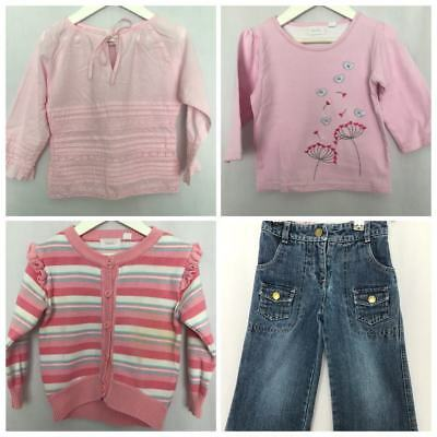 Girls Lot Size 3 Baby Ka-Boosh Formal Winter Cardigan Top Jeans #G224
