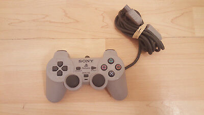 Official OEM Sony PlayStation 1 PS1 Dualshock Controller Grey