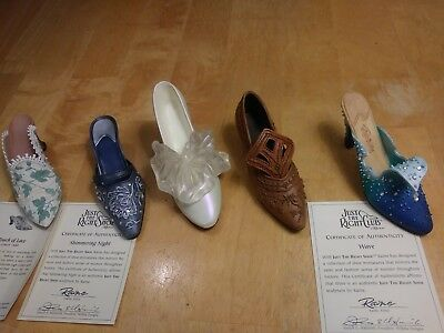 Lot 5 Just The Right Shoe by Raine-Wave/ Riches/Tying Knot, Shimmering/Lace