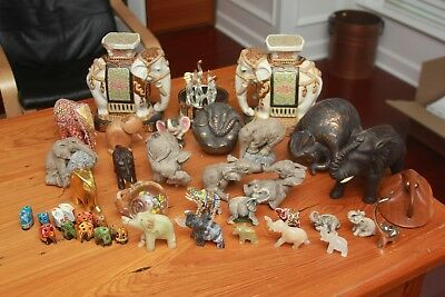 HERD  3207 3308 3143 3142 3115 ELEPHANT Figurine Large collection