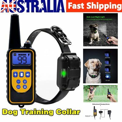 Anti Bark Dog Stop Barking Collar Automatic Training Rechargeable Pet TrainerIU