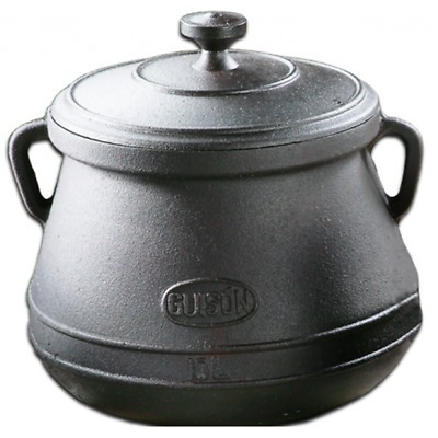 Guison 10 Litre Cast Iron Enamelled Pot Belly Saucepan - Made in Spain