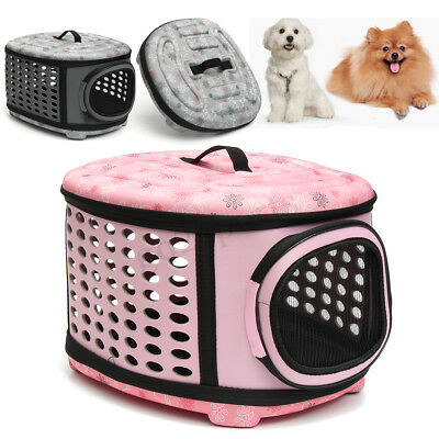 LARGE Pet Dog Cat Puppy Travel Carry Carrier Tote Cage Bag Crates Kennel Holder